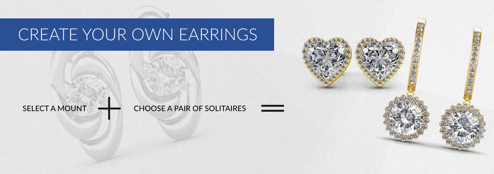 Solitaire Diamond Earrings At The Best Prices In India Create Your Own Sarvadajewels