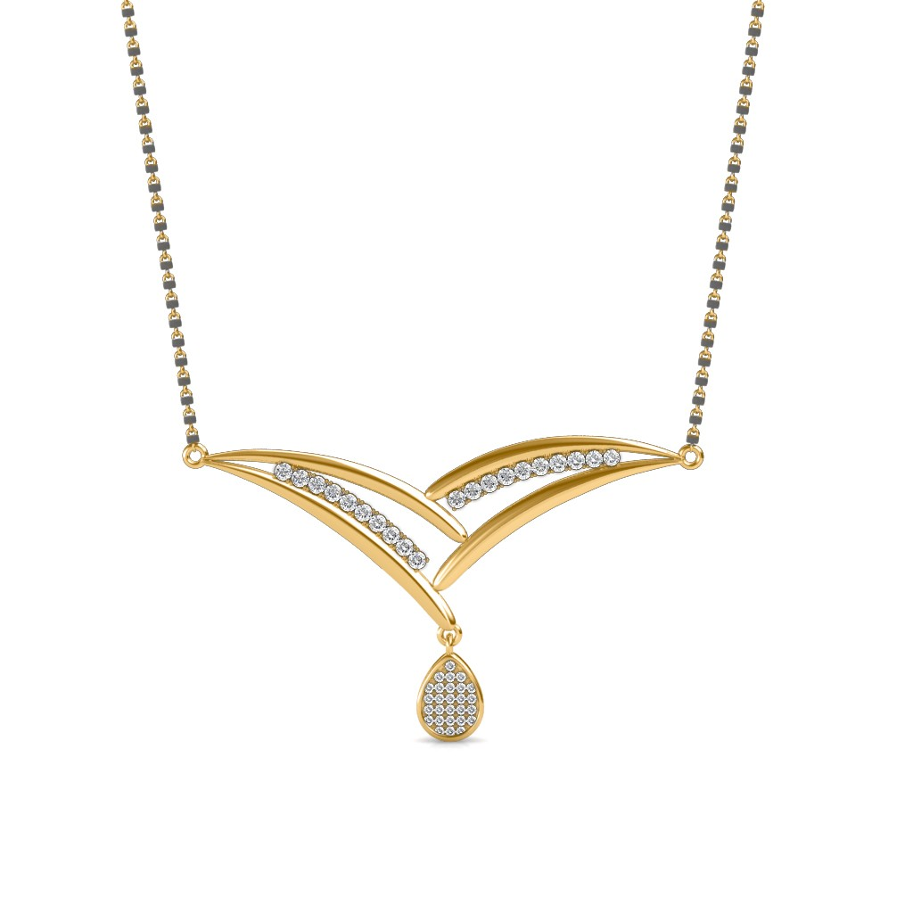 The Sattvaye Mangalsutra Diamond Jewellery At Best