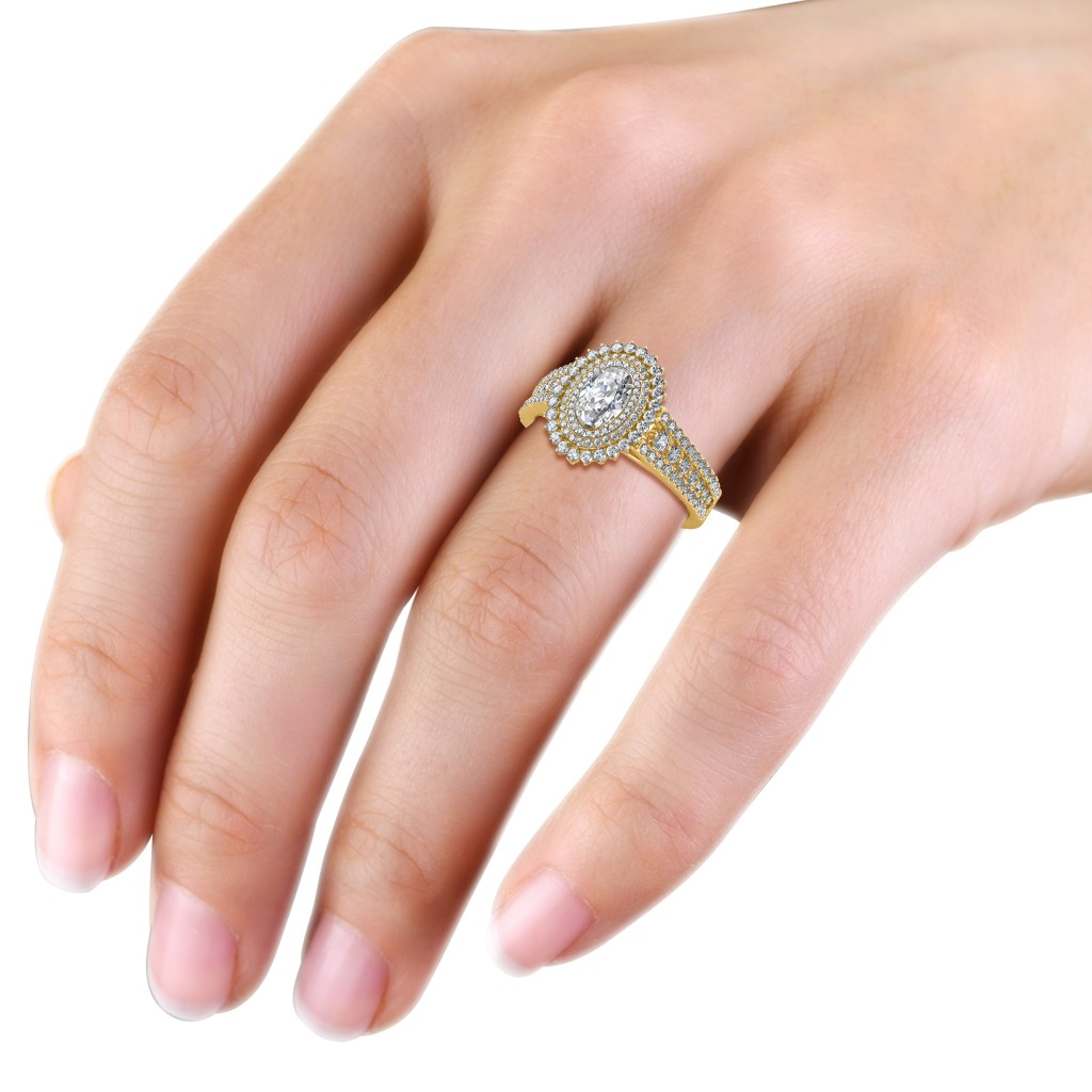 Bella Oval Ring - Solitaire Diamond Rings at Best Prices in India ...