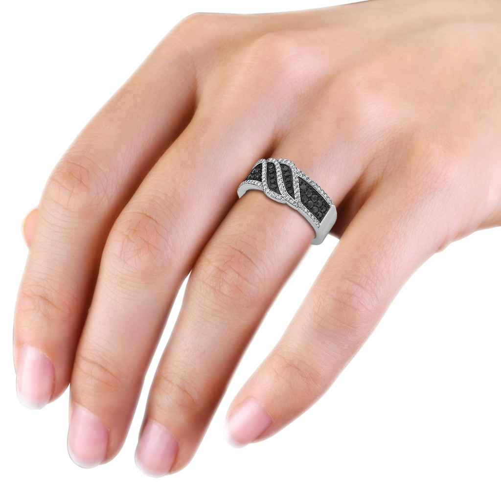 The Imperia Black Diamond Ring - Diamond Jewellery at Best Prices in ...