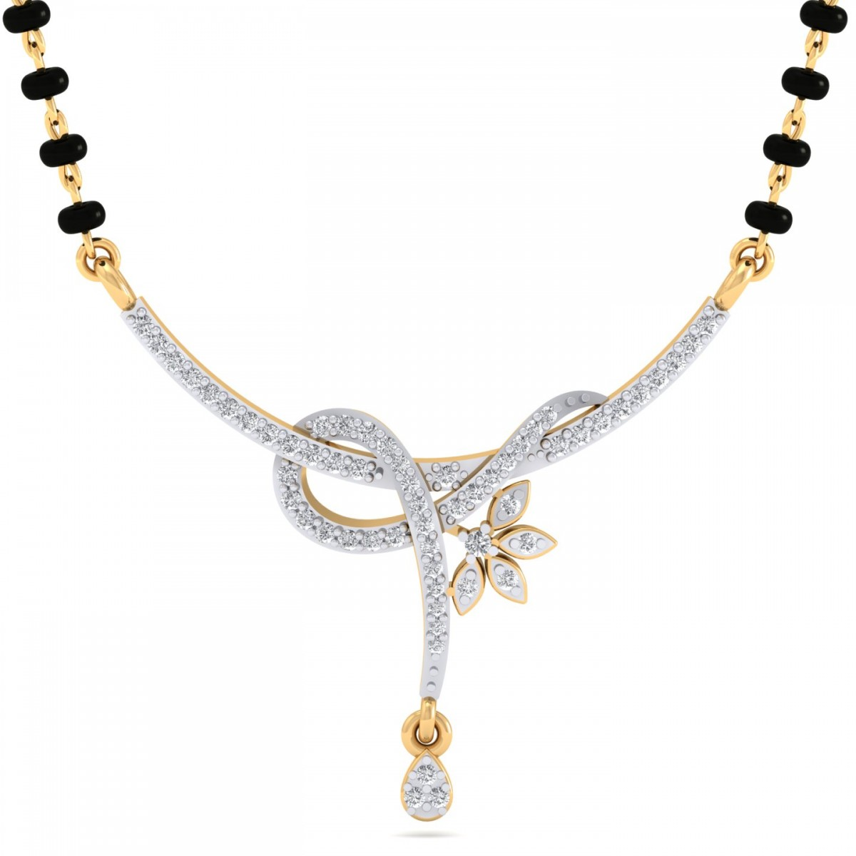The Aasumi Mangalsutra Diamond Jewellery At Best Prices