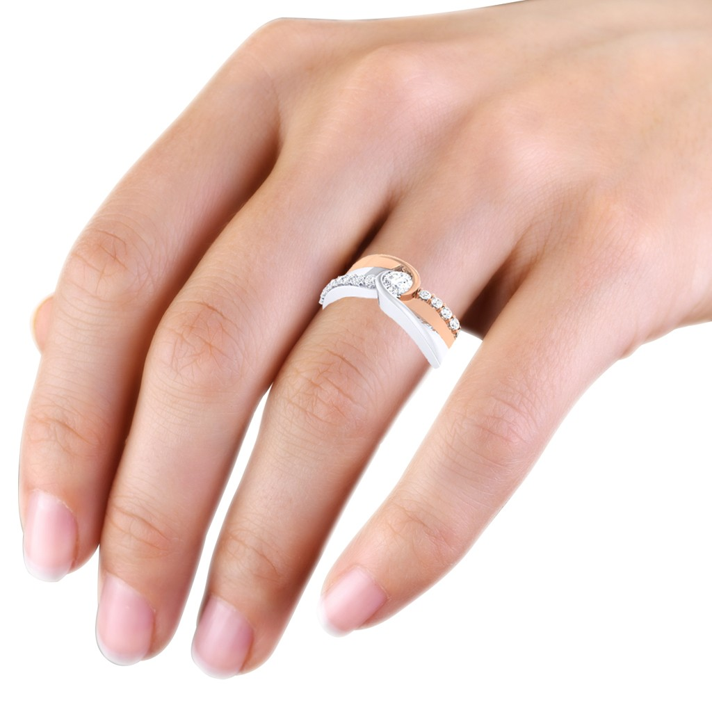 photo carat genuine women engagement ring preloved rings diamond fashion s p