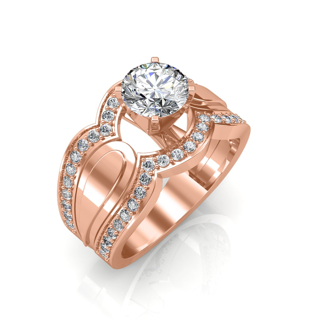 The Utopia Solitaire Ring Solitaire Diamond Rings At