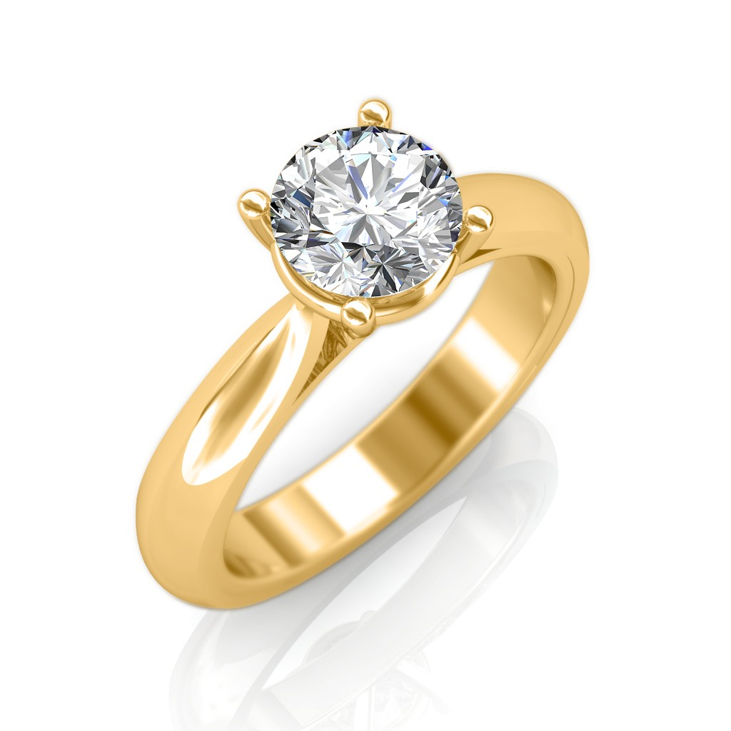 Classic Engagement Ring Solitaire Diamond Rings at Best Prices in India