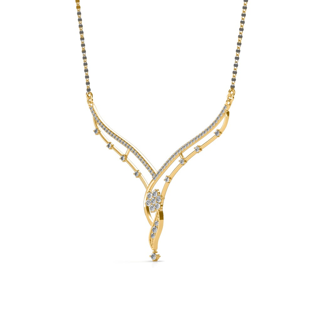 The Suparna Mangalsutra - Diamond Jewellery at Best Prices in ...