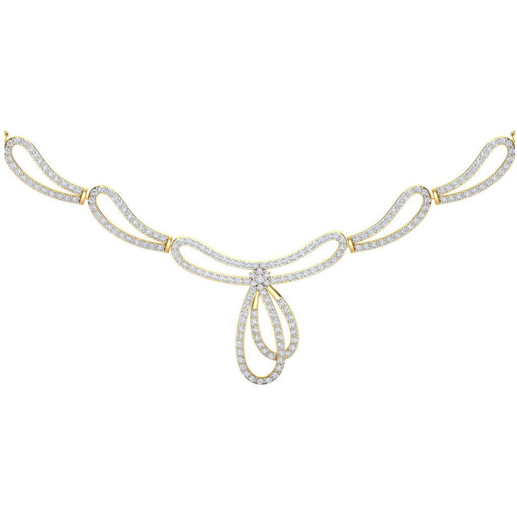 The Jeanette Diamond Necklace