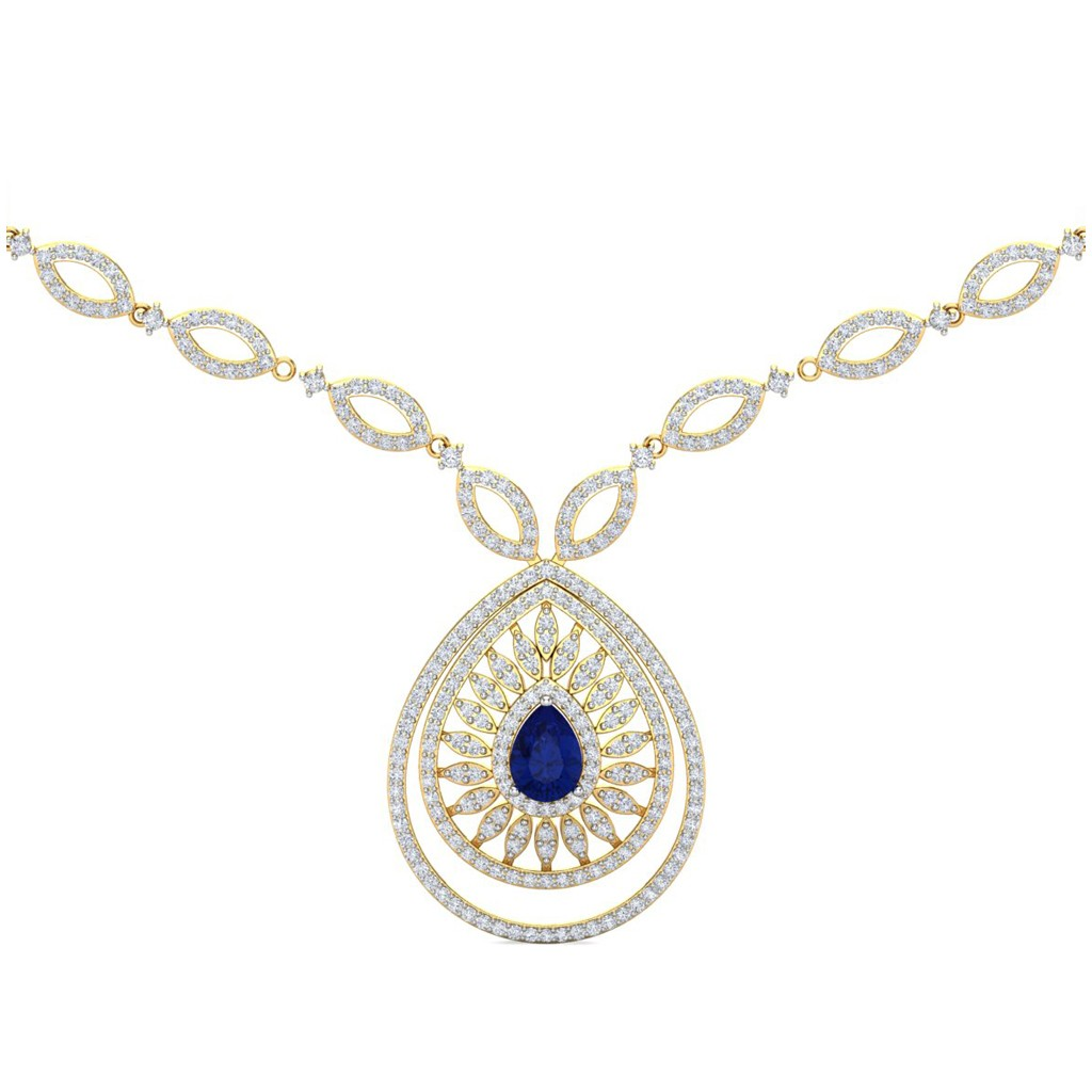 vvs yellow products cuban necklace presidents gold diamond link in