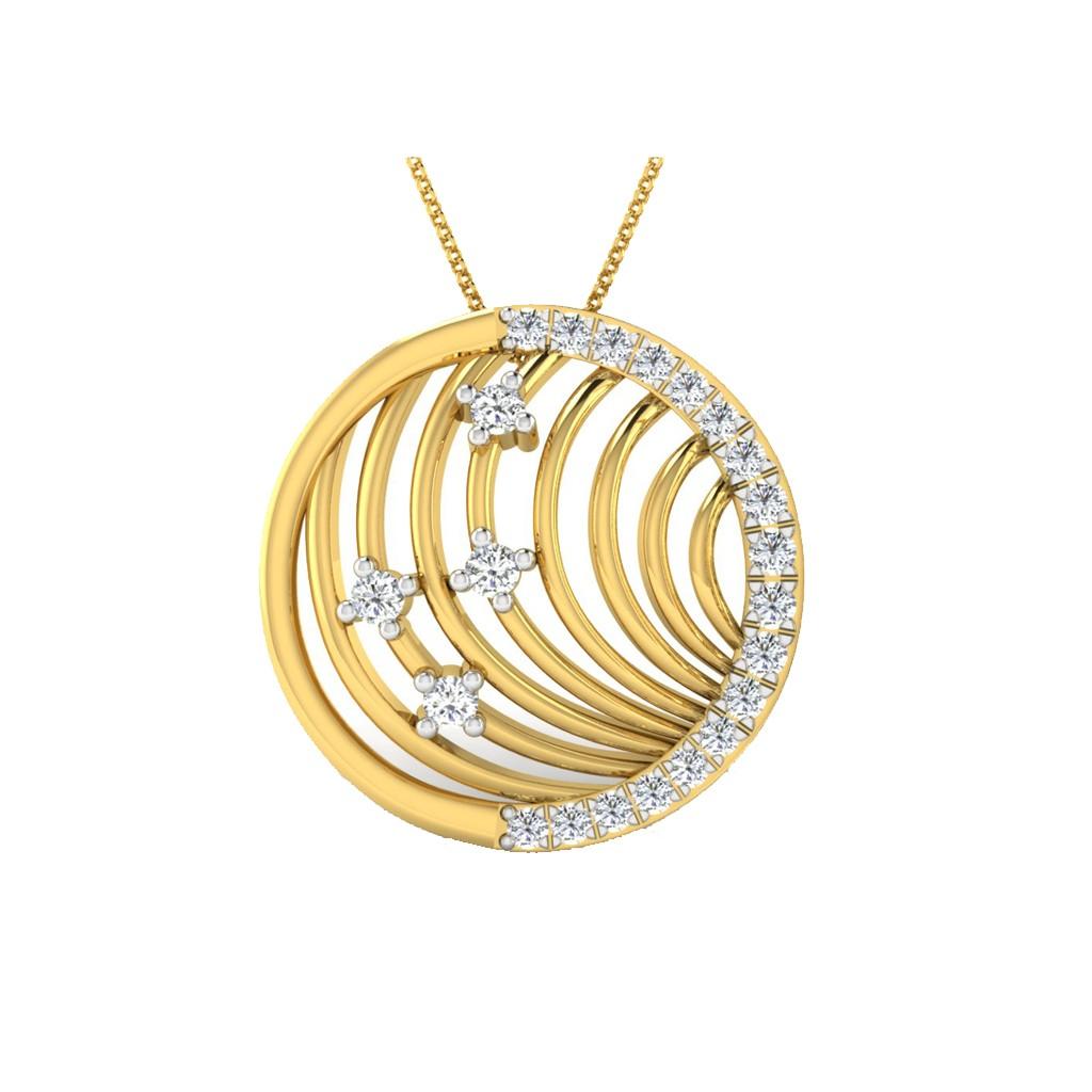 The Liri Circular Pendant