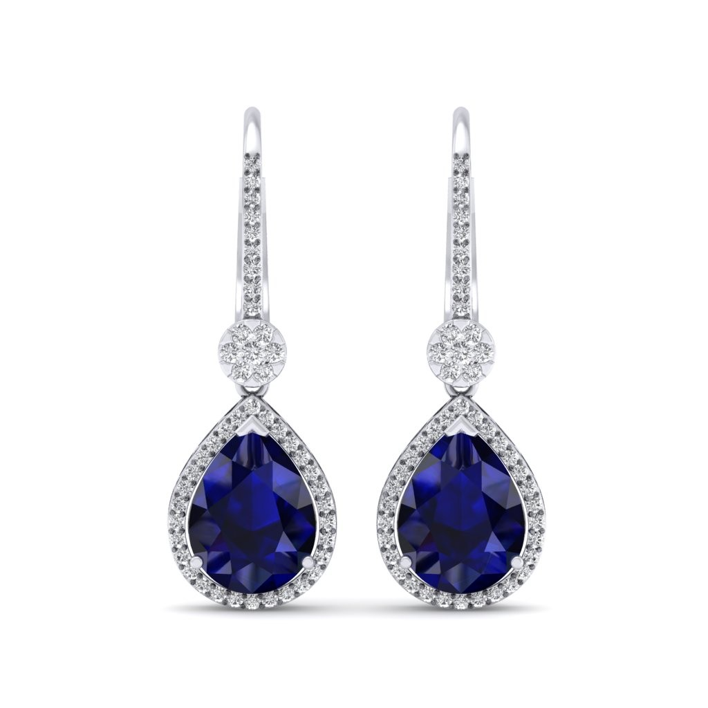 The Azure Dangler Earrings - Diamond Jewellery at Best Prices in ...
