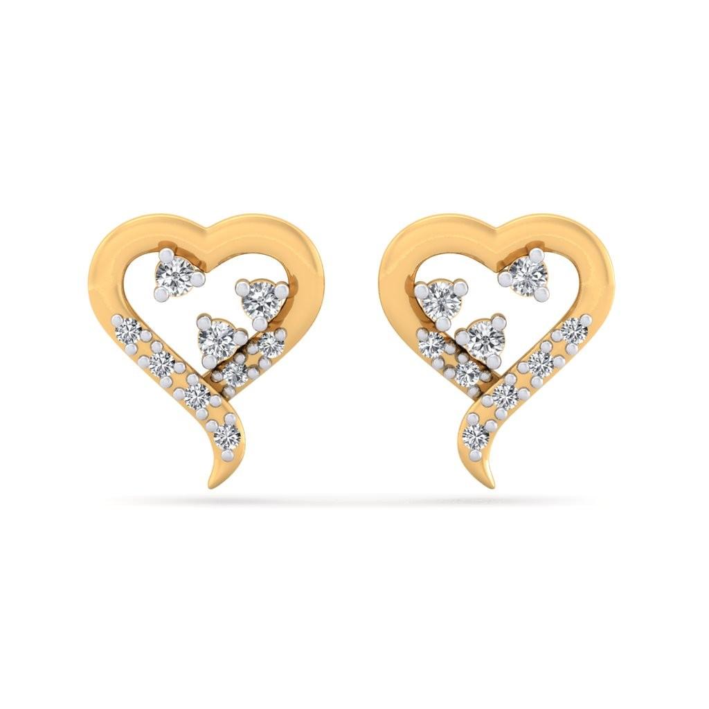 The Elisa Heart Earrings