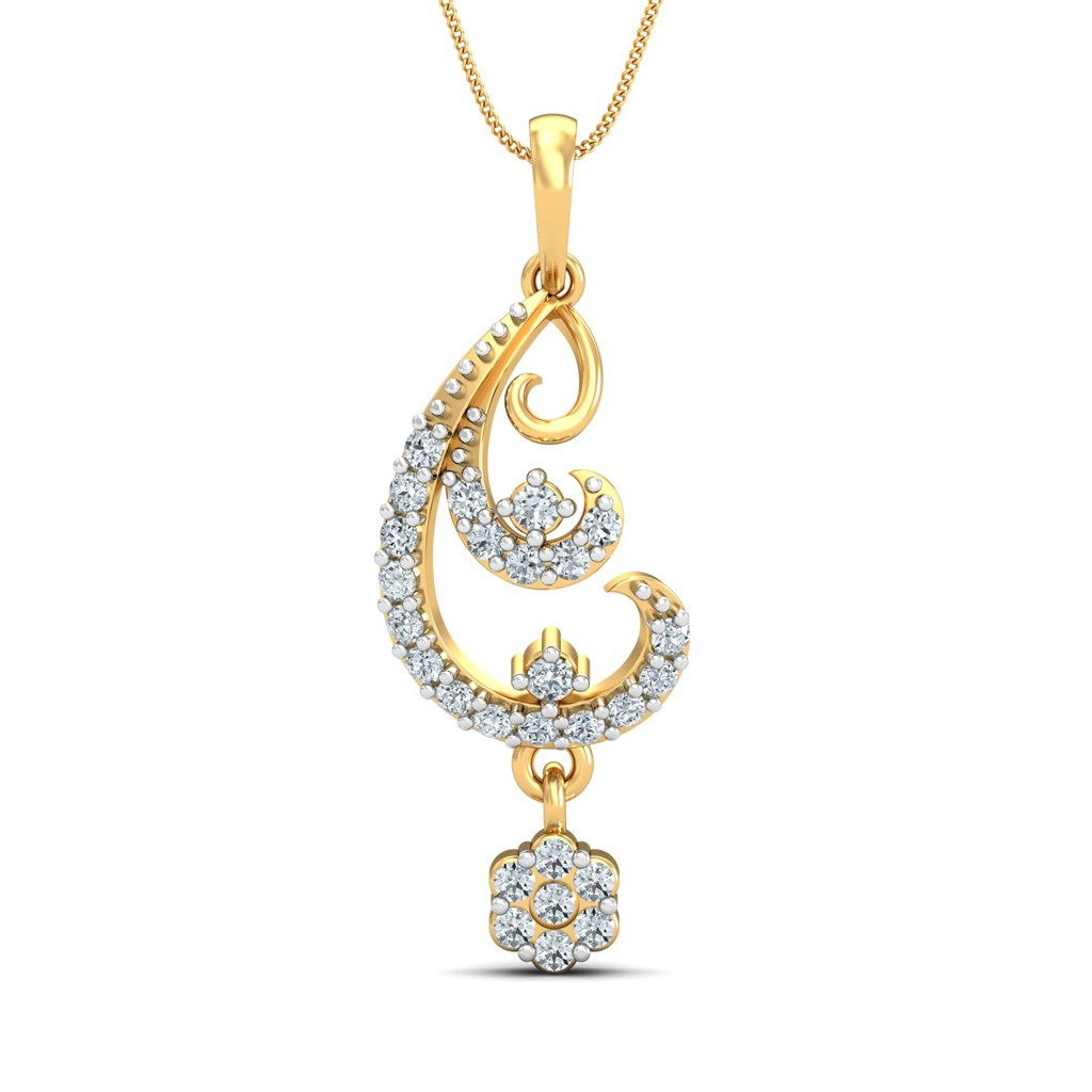 The Oni Diamond Pendant