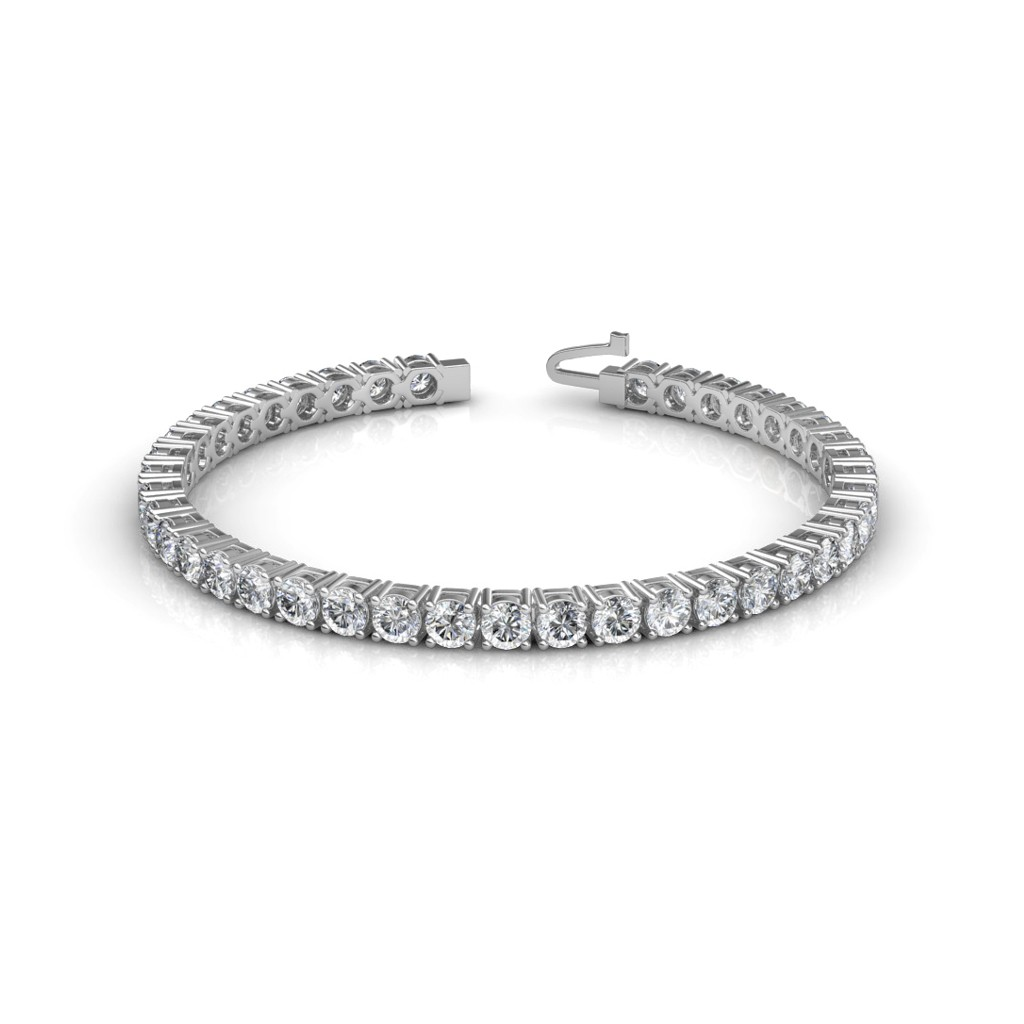 The Dazzling Tennis Bracelet Diamond Jewellery At Best Prices In India Sarvadajewels