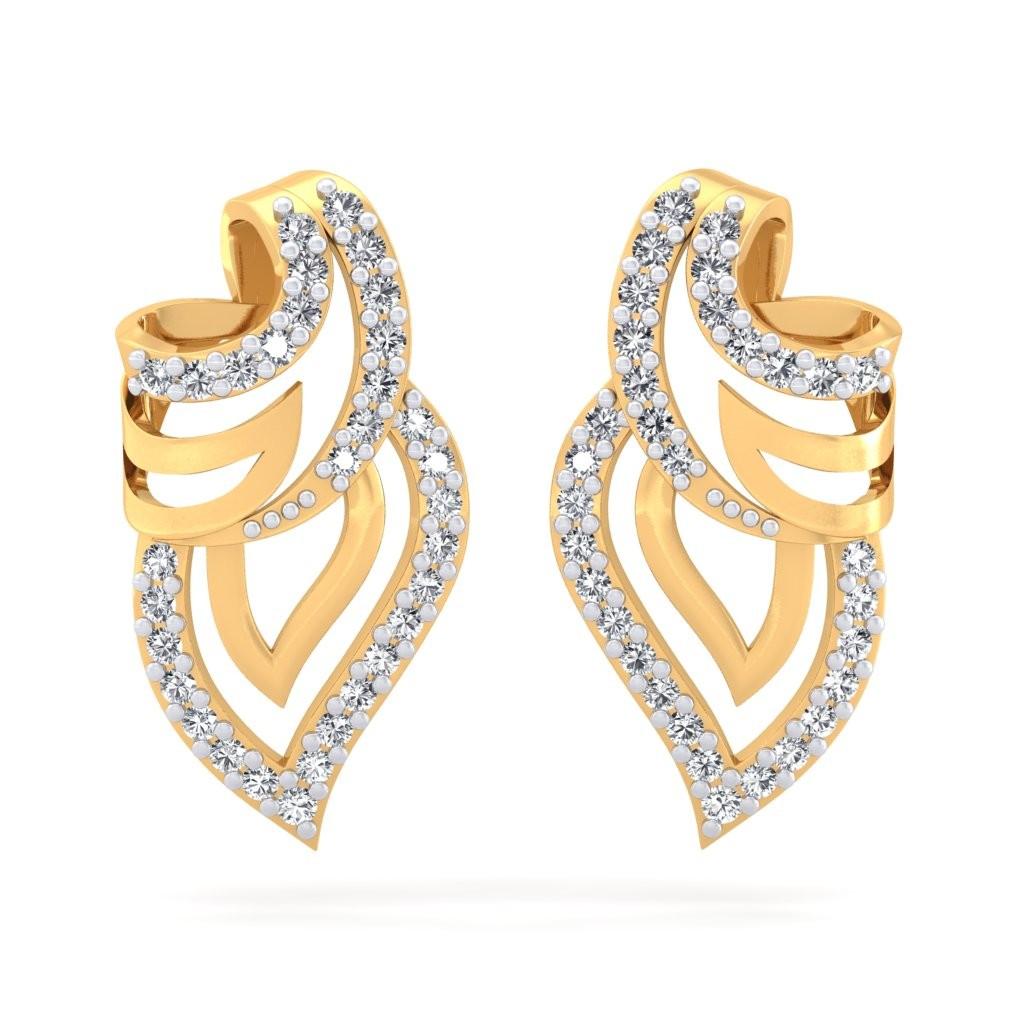 The Rio Leaf Earrings