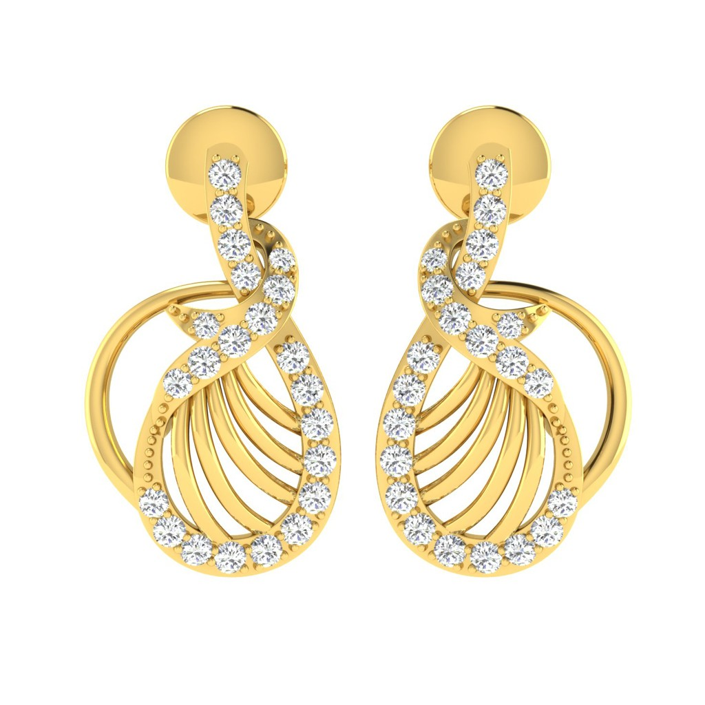 The Gilberta Diamond Earrings
