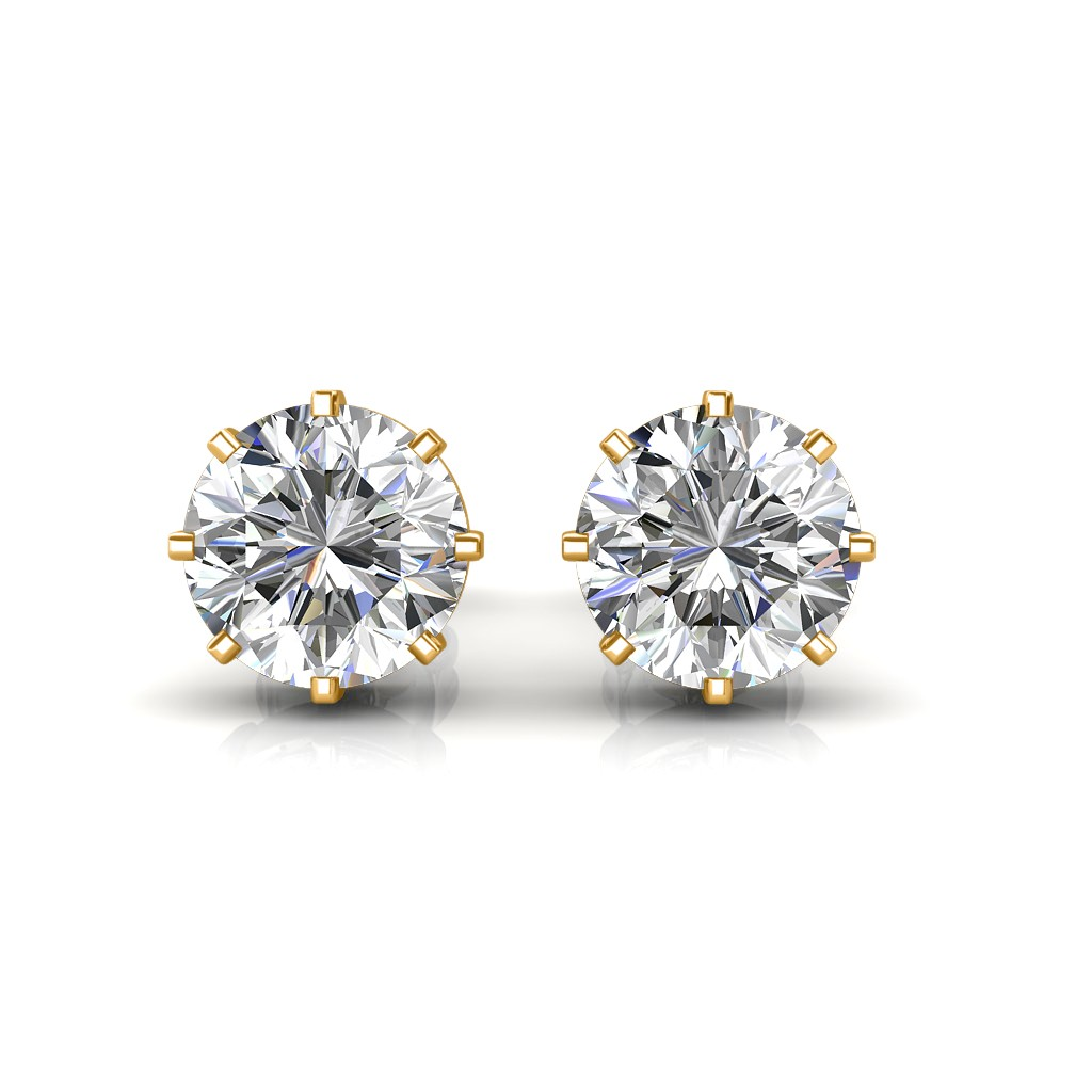 birks ways solitaire ctw products stunning stud earrings diamond