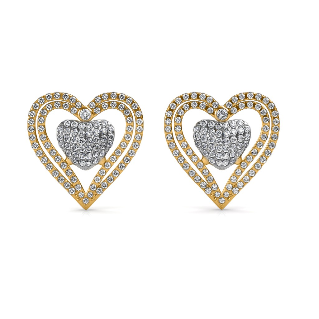 The Sweetheart Diamond Earrings