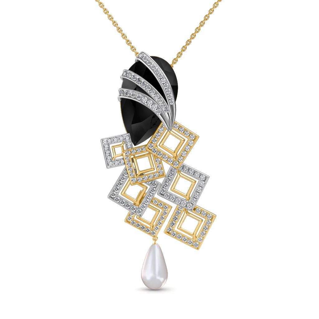 The Elegant Onyx Pendant