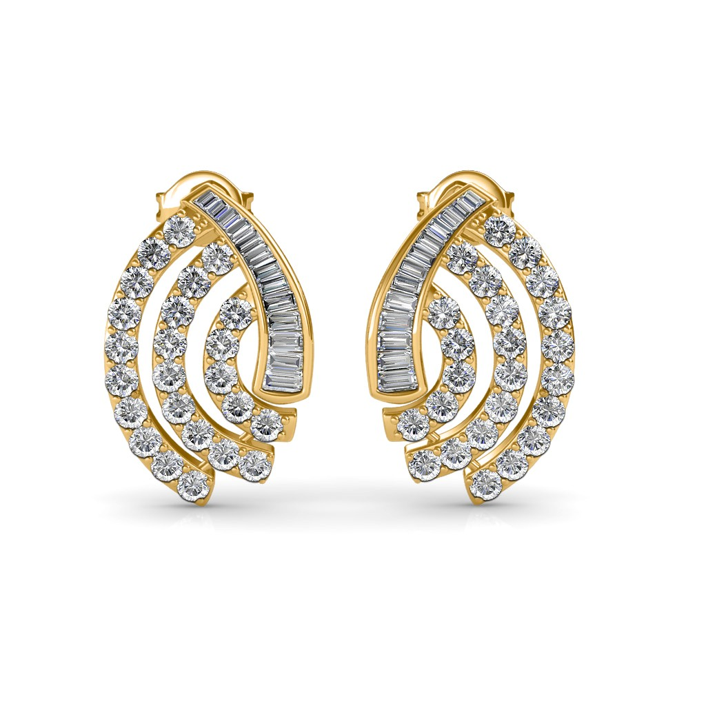 The Norah Diamond Earrings