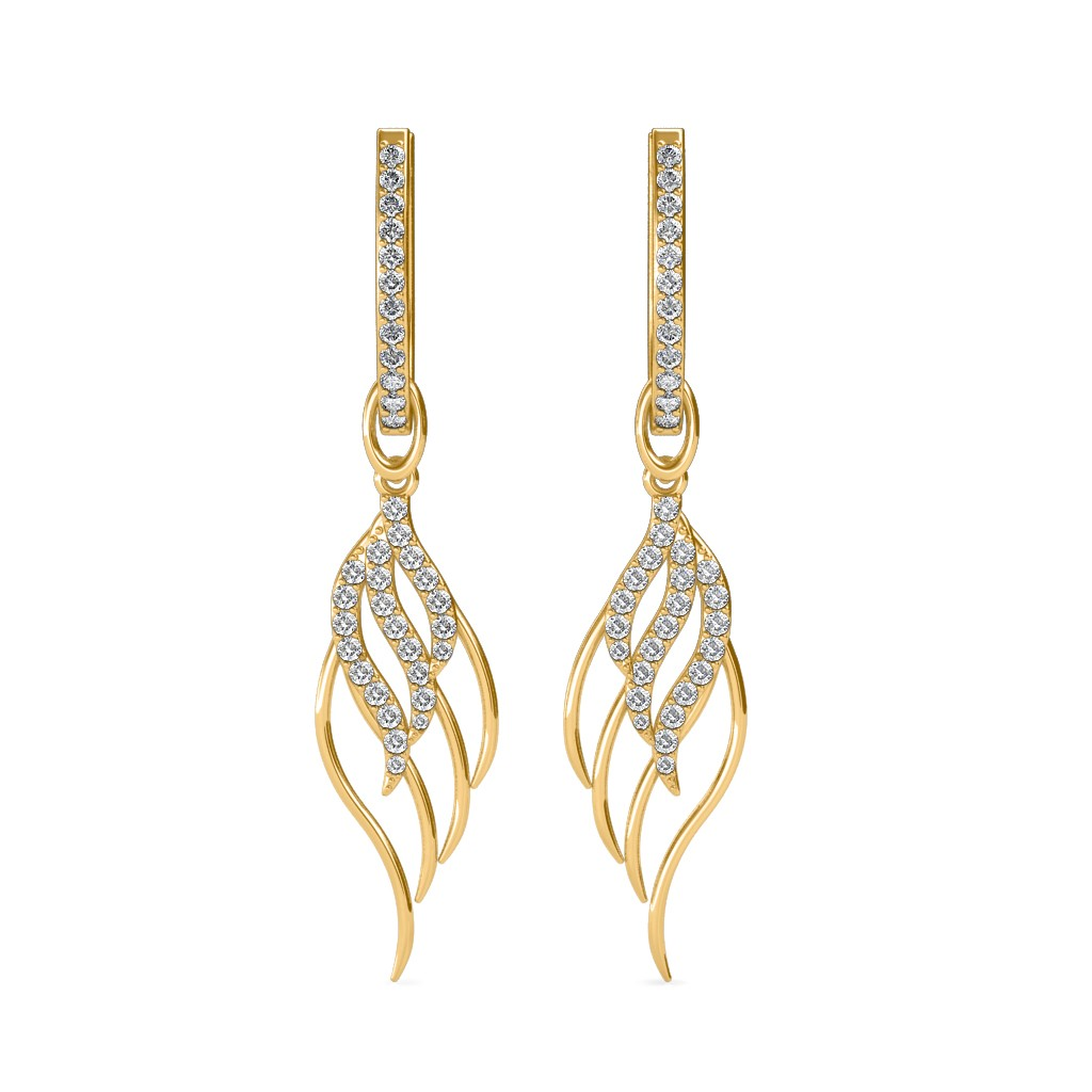 The Gelsy Leaf Earrings