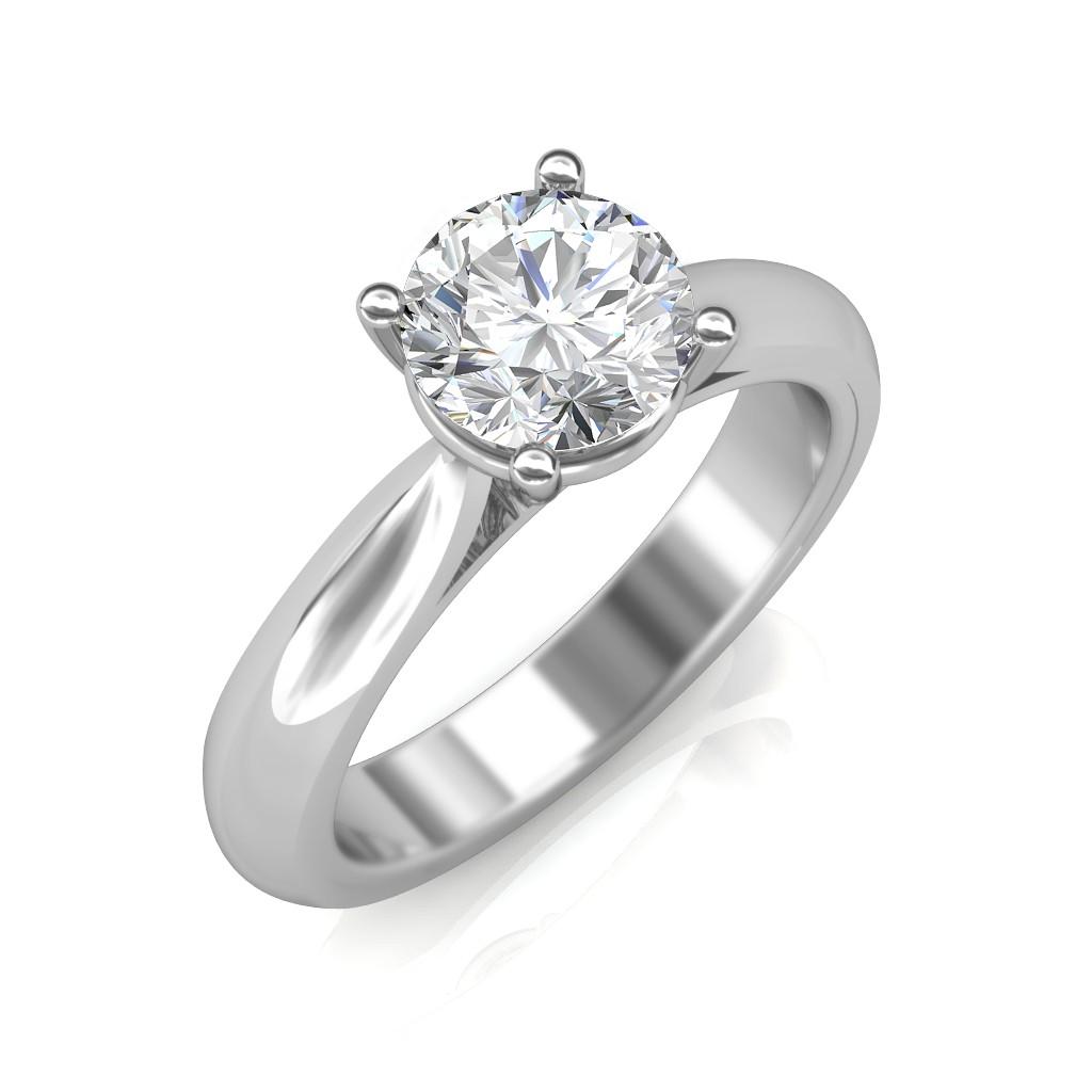 0.50 carat Platinum - Classic Engagement Ring