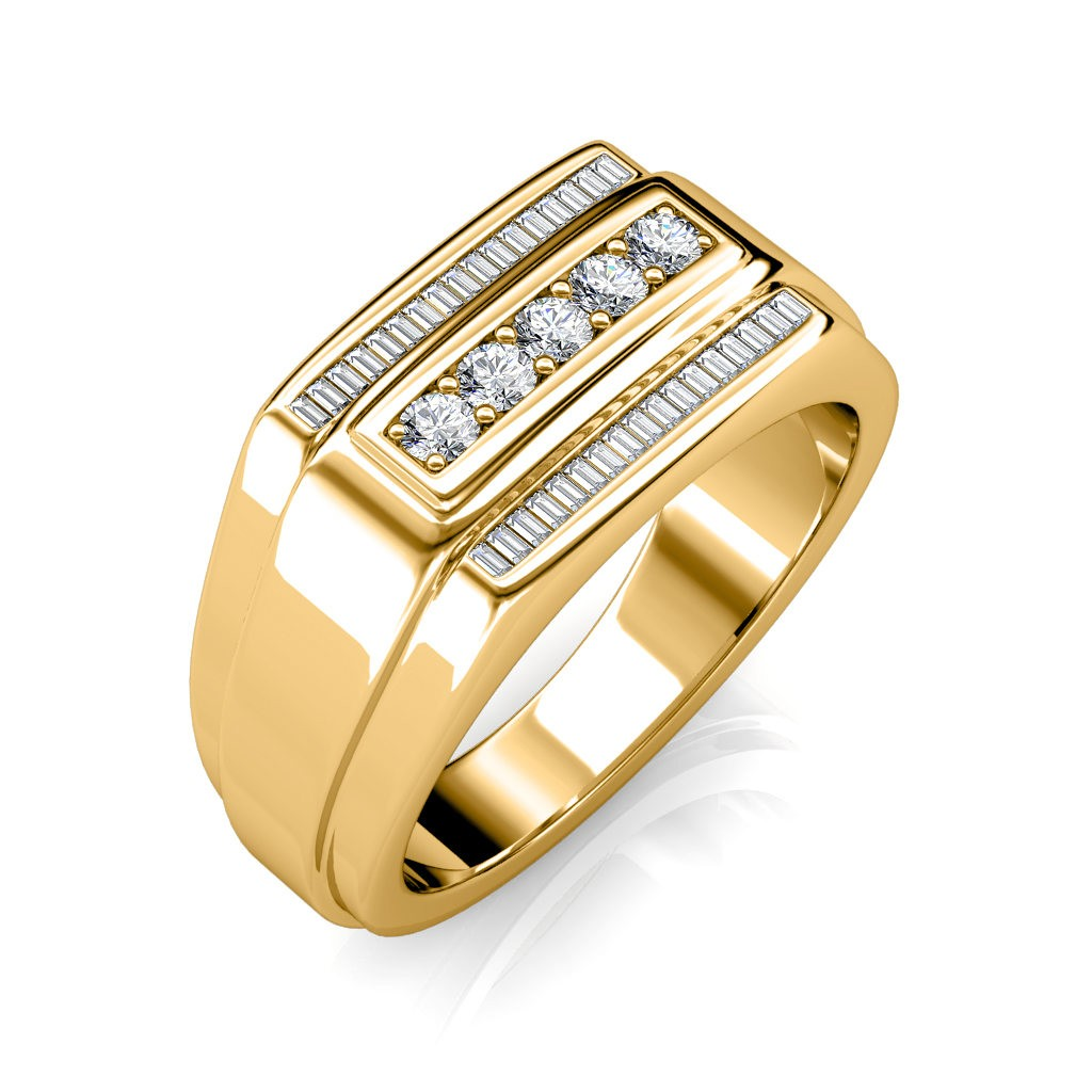 The Theo Ring For Him   Diamond Jewellery At Best Prices In India |  SarvadaJewels.com