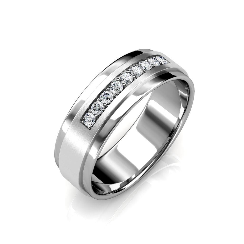 The William Ring For Him - Platinum