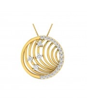 The Liri Circular Pendant