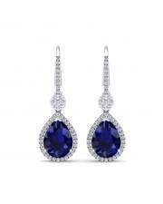 The Azure Dangler Earrings
