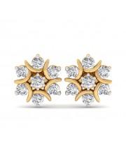 The Nova Naksh Earrings - 10 cent diamonds