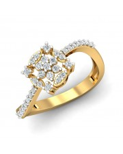 The Anna Floral Ring