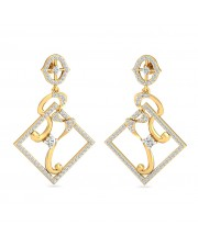 The Delna Square Earrings