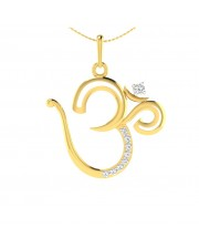 The Radiant Om Pendant