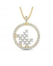 The Clarisse Circular Pendant