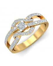 0.82 carat 18K Yellow Gold - Levita Princess Engagement Ring