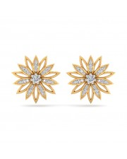The Carey Sunflower Earrings