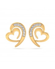 The Ria Heart Earrings