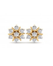 The Nova Naksh Earrings - 3 cent diamonds