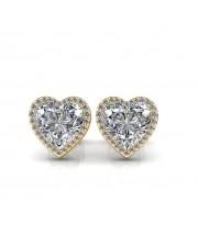The Zest Heart Earrings