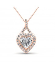 The Aurelia Heart Pendant