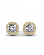 The Aava Solitaire Earrings