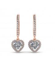 The Myra Heart Earrings