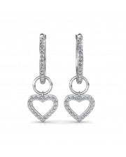 The Love Heart Earrings