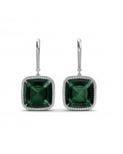 The Green Dazzle Earrings