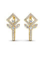The Celia Leaf Earrings