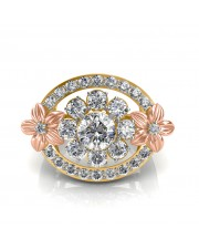 The Nova Floral Ring