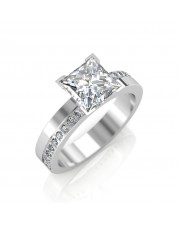 The Eternity Solitaire Ring