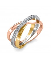 The Interlinked Infinity Ring