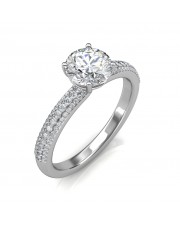 The Forever Love Engagement Ring