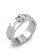 The Prius Ring For Him - Platinum - 0.50 carat