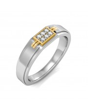The Zeno Diamond Ring For Him